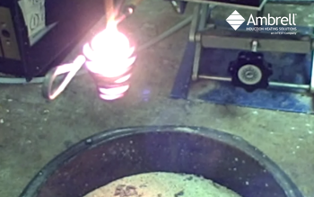 Induction Melting Nickel