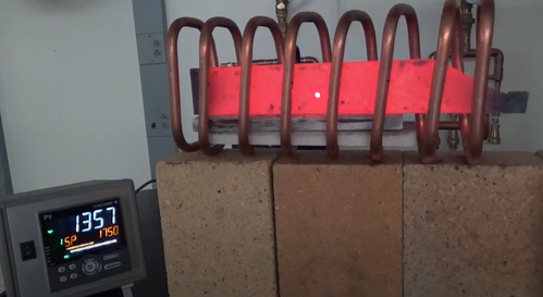 Induction Heating a Steel Part for Bending
