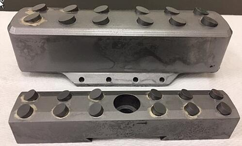 Brazing a Carbide Steel Assemblies with Induction