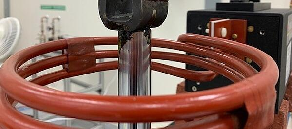 Preheating Rod Assemblies for Welding with Induction Heating
