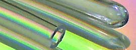 catheter tipping with induction heating