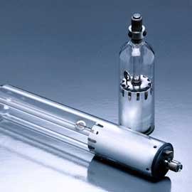 Sellado de metal a vidrio con calentamiento por inducción