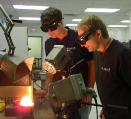 laboratorio applicativo Ambrell Induzione