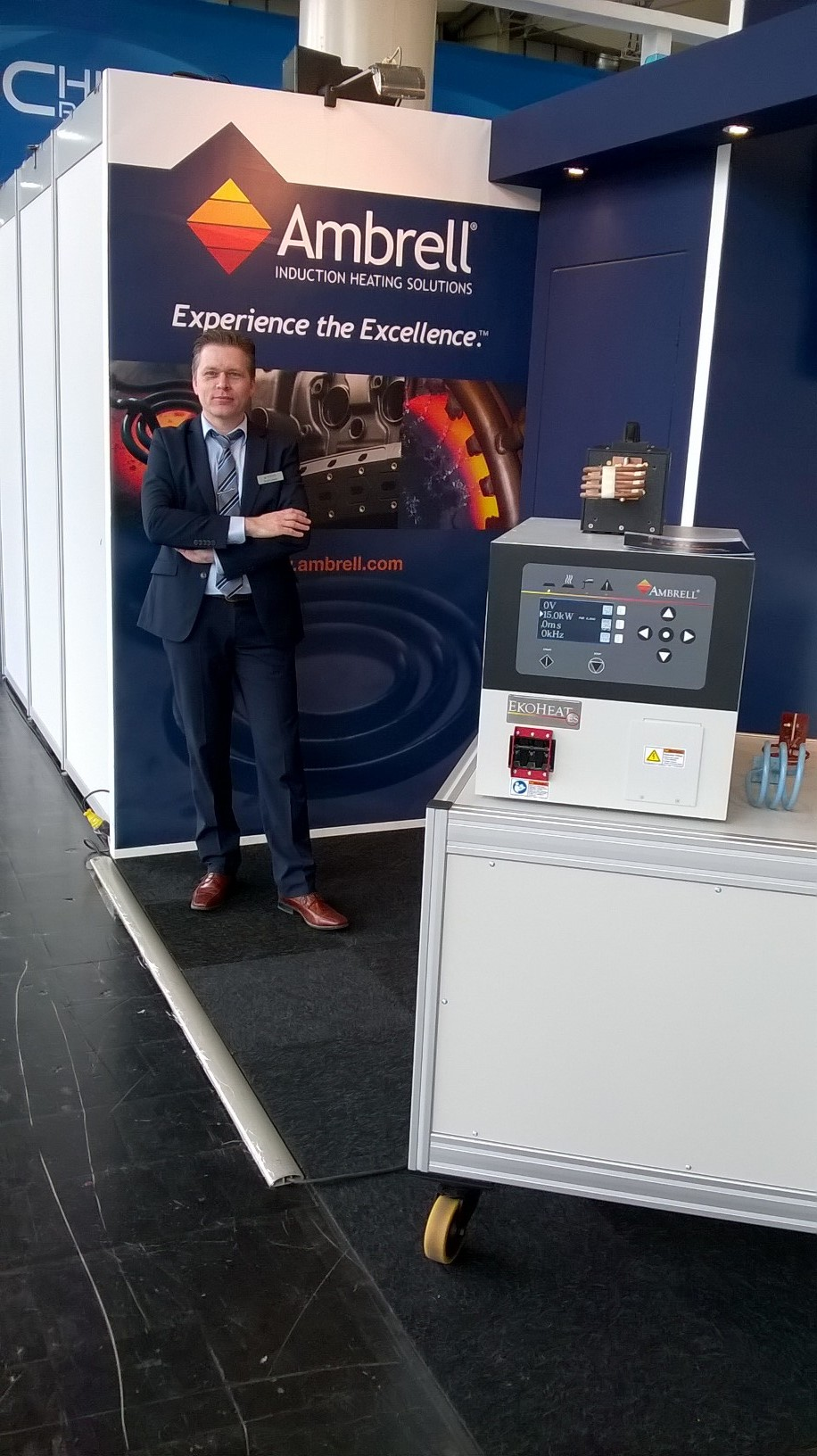 Induction heating at HANNOVER MESSE