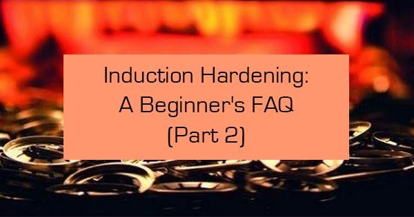 how does induction hardenig work