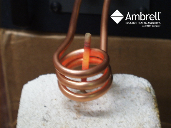 induction annealing bolt shafts
