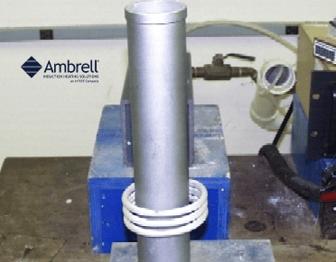 induction shrink fitting motor shaft