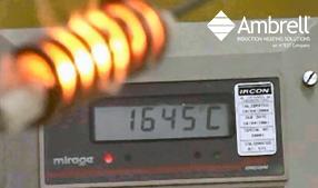 tungsten rod induction annealing