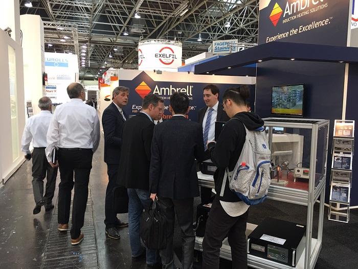 Ambrell Team at Wire Dusseldorf