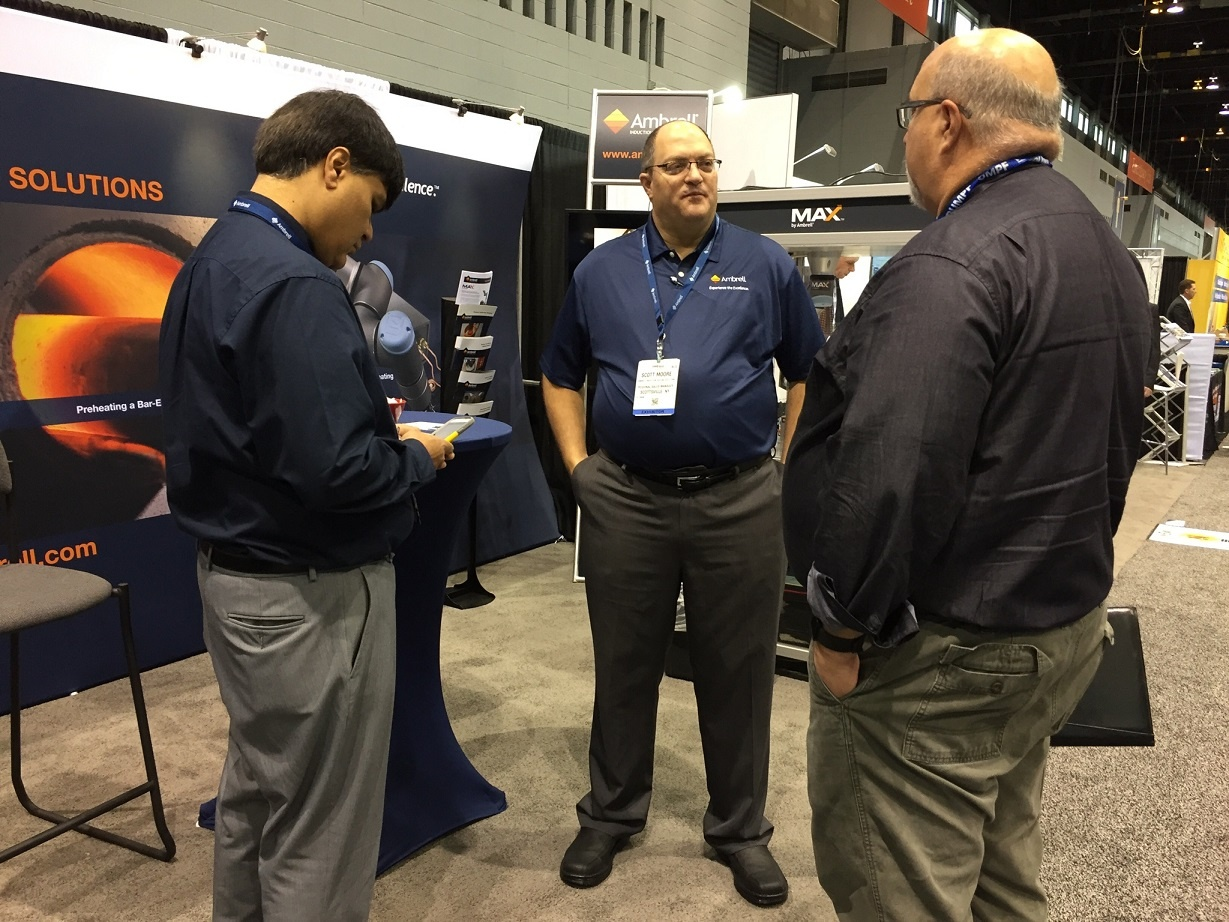 Ambrell Induction Heating at FABTECH