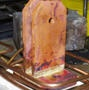 Brazing a copper pivot assembly