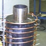Shrinkfitting a steel mud pump liner