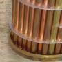 Soldering Brass end cap on heat exchanger