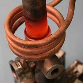 induction brazing image
