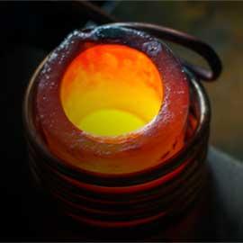 induction melting image