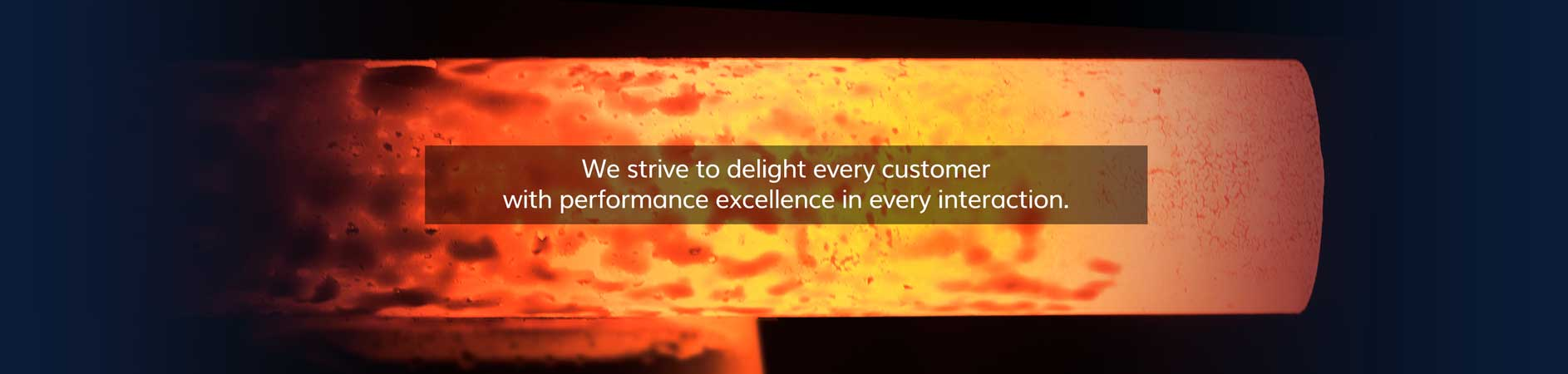We strive to delight every customer with performance excellence in every interaction.